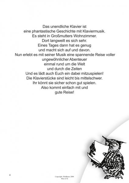 Waldkauz Musikverlag - Das unendliche Klavier - eine